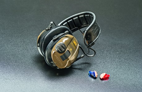 Hearing protection test